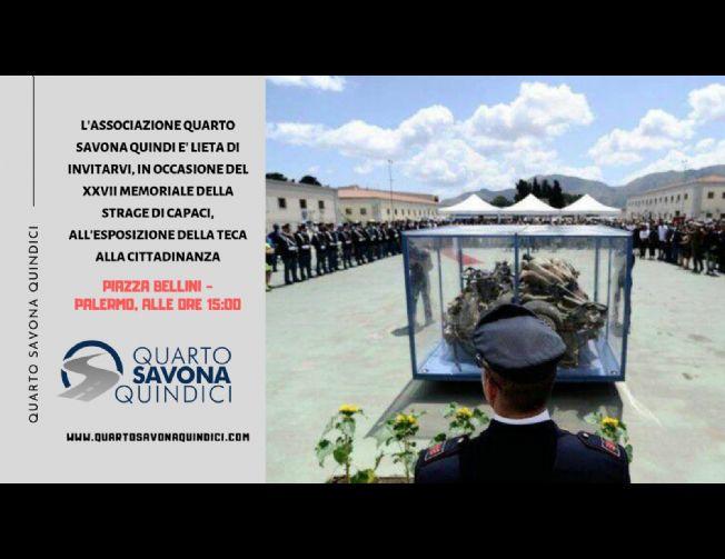 Memoriale XXVII anniversario della strage di Capaci