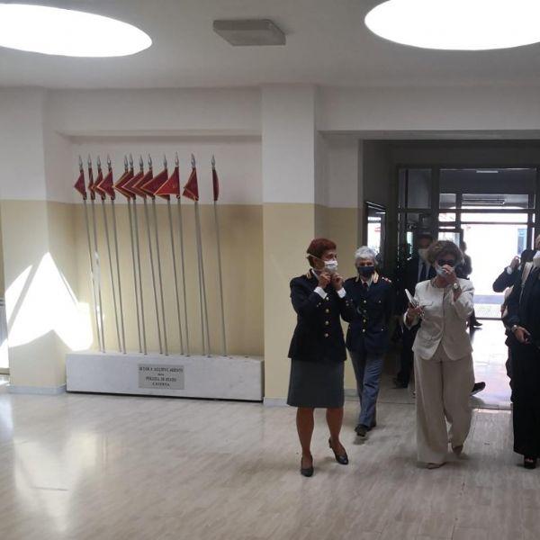 Tour Scuola di Polizia di Caserta e Campobasso,