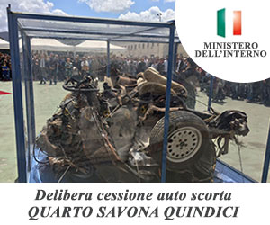 Delibera cessione auto scorta Quarto Savona Quindici