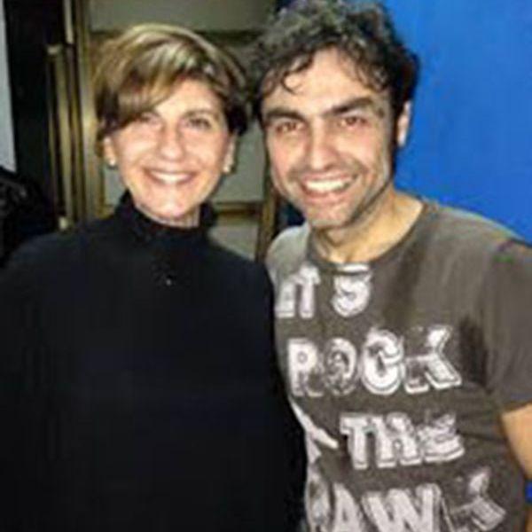 Tina Montinaro e Marco Ligabue,