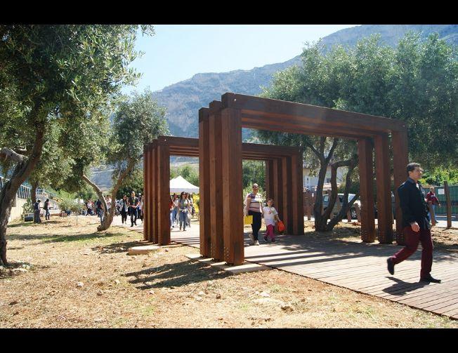 Inaugurazione del giardino della memoria 'Quarto Savona 15' con il ministro Minniti,