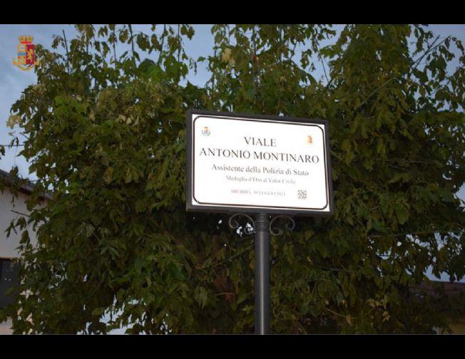 Intitolato ad Antonio Montinaro il viale principale del Paese di Brebbia