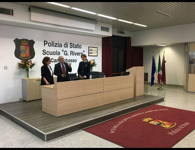 Polizia di Stato, Scuola G. Rivera