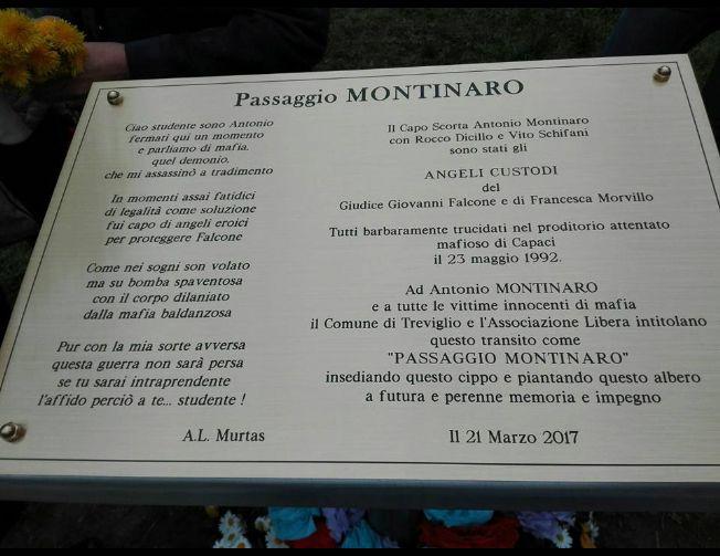targa, commemorativa